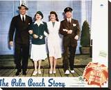 The Palm Beach Story Stretched Canvas Print