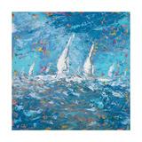 Sailing I Premium Giclee Print by  Kingsley