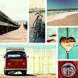 Gail Peck - Beach Life I - Fotografik Baskı