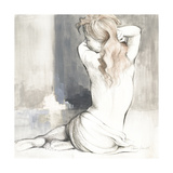 Sketched Waking Woman I Premium Giclee Print by Lanie Loreth