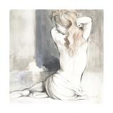 Sketched Waking Woman I Premium Giclee Print by Lanie Loreth