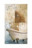 Bathroom and Ornaments I Reproduction procédé giclée par Patricia Pinto