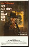 Pat Garrett and Billy the Kid Stretched Canvas Print