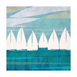 Afternoon Regatta I Premium Giclee Print by Dan Meneely