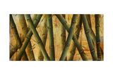 Bamboo Forest II Print by Patricia Quintero-Pinto