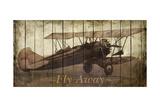 Fly Away Premium Giclee Print by Merri Pattinian