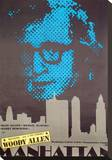 Manhattan Stretched Canvas Print