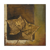 Golden Leaves I Giclee Print by Patricia Quintero-Pinto