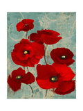 Kindle's Poppies I Premium Giclee Print by Lanie Loreth