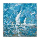 Sailing II Premium Giclee Print by  Kingsley