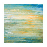 Winter Sunset Giclee Print by Roberto Gonzalez