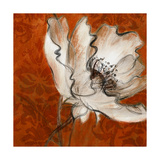 Poppies with Spice Prints by Lanie Loreth