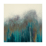 Teal Woods Giclee Print by Roberto Gonzalez