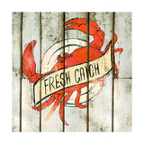 Fresh Catch Square Premium Giclee Print