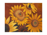 Sunflowers I Giclee Print by Vivien Rhyan