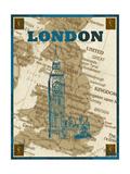 City Stops II Premium Giclee Print by Nicholas Biscardi