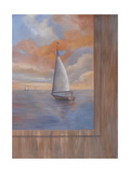 Sailing at Sunset II Prints by Vivien Rhyan