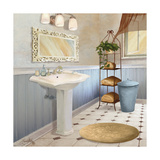 Sundance Bath II Giclee Print by Elizabeth Medley