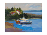 Sail Boats Giclee Print by Jane Slivka