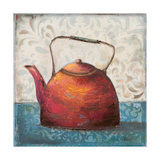 Red Pots I Premium Giclee Print by Patricia Quintero-Pinto