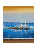 Blue Ocean I Giclee Print by Patricia Pinto