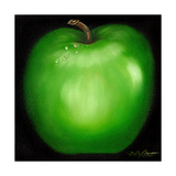 Green Apple Giclee Print by Nelly Arenas