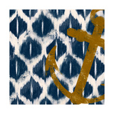 Nautical Ikat I Giclee Print by Patricia Pinto