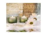 Relaxation I Poster von Patricia Quintero-Pinto