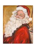 Smiling Santa Premium Giclee Print by Patricia Quintero-Pinto