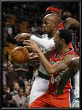 New Jersey Nets v Boston Celtics: Devin Harris and Ray Allen Prints by  Elsa