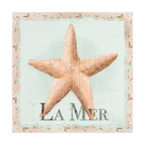 La Mer Premium Giclee Print by Tiffany Hakimipour