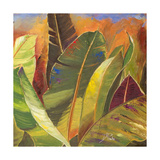 Through the Leaves Square II Premium Giclee Print by Patricia Quintero-Pinto