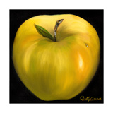 Yellow Apple Premium Giclee Print by Nelly Arenas