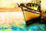 Boat V Fotografisk tryk af Ynon Mabat