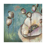 Blue Poppies I Giclee Print by Patricia Quintero-Pinto