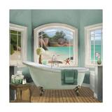 Oceanview II Reproduction giclée Premium par Elizabeth Medley
