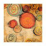Spring Forward Square II Giclee-tryk i høj kvalitet af Gina Ritter