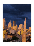 The City II Giclee Print by Nicholas Biscardi