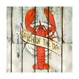 Catch of the Day Square Premium Giclee Print