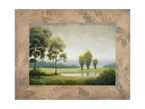Green Land I Premium Giclee Print by Michael Marcon