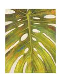Tropical Leaf II Reproduction procédé giclée par Patricia Pinto