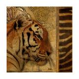 Elegant Safari II (Tiger) Giclee Print by Patricia Quintero-Pinto