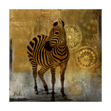 Expedition Square II Giclee Print by Patricia Pinto