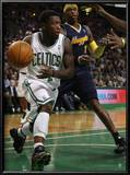 Denver Nuggets v Boston Celtics: Nate Robinson and Al Harrington Prints by  Elsa
