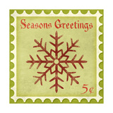 Holiday Stamp I Giclee Print