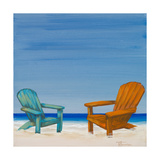 Coastal Scene IV Premium Giclee Print by Tiffany Hakimipour