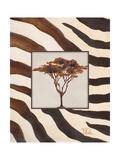Contemporary Africa II Giclée-Druck von Patricia Quintero-Pinto