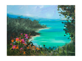 Overlooking the Inlet Giclee Print by Jane Slivka