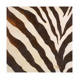 Contemporary Zebra III Premium Giclee Print by Patricia Quintero-Pinto