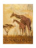Nairobi Giclee-tryk i høj kvalitet af Patricia Quintero-Pinto